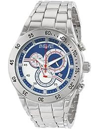 August Steiner AS8083SS - Reloj de cuarzo para hombres, color plata