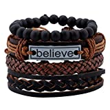 Best Bracelets For 4 - Impression Latest Natural Stone Beads Inspirational Believe Words Review