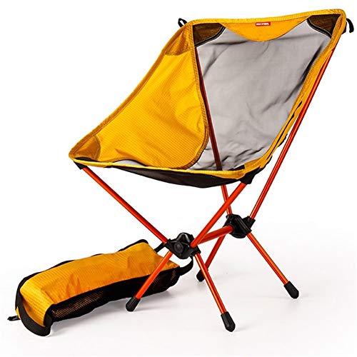 Oojuuyunkjlkj Chair of The House Gelbe Klappstuhl Angeln Stuhl Strandkorb Klappmöbel für Gärten Strände Camping