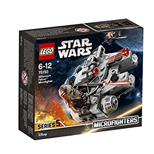 LEGO UK 75193 Star Wars Millennium Falcon Microfighter Star Wars Toy