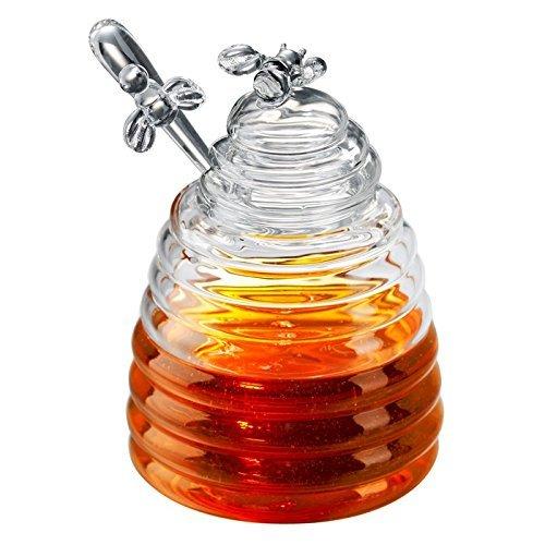 Artland Honey Bees Honigtopf, Glas (Biene Honig Topf)