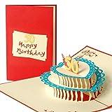 Geburtstagskarte, Glückwunschkarte, 50. 50er Geburtstag, 50 Jahre, Glückwünsche, Karte zum Geburtstag, Handmade, edel, elegant, G14.3