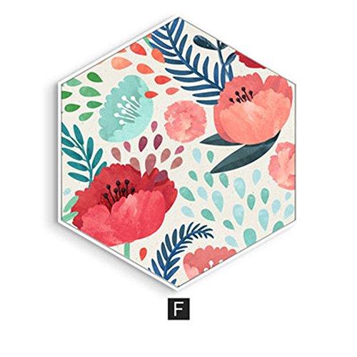 Zum Aufhängen Gemälde Living/Esszimmer Traceless Dekoration Schlafzimmer Nachttisch Art Garten Reinigen Wandmalereien Sofa Wände, F, M