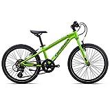 Orbea MX 20 Speed Zoll MTB Kinder Fahrrad 7 Gang Rad Aluminium Kids Mountain Bike Grün, I031, Farbe grün