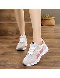 d6454849 GTVERNH Zapatillas de Mujer/Verano/Red Transpirable Zapatos Base Plana  Gauze Turismo Mujeres Zapatos