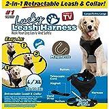 Lucky Leash 2-n-1 Hundeleine, einziehbar, Größe L/XL