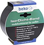 BEKO 2353104 Iso-Dicht-Band 60 mm x 25 m SCHWARZ, für außen