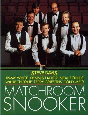 Matchroom Snooker (Pelham practical sports) por Steve Davis