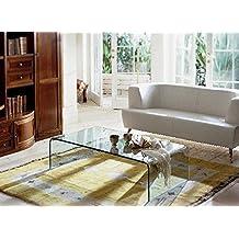Amazon.it: Tavolino da salotto in cristallo