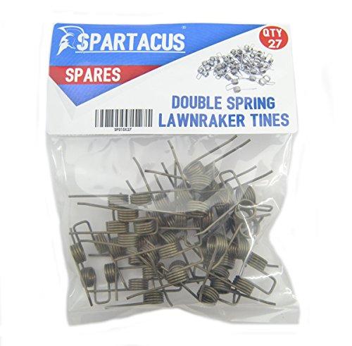 27 x Spartacus Replacement Lawn Raker Scarifier Tines Tynes For Titan TTB428GDO Test