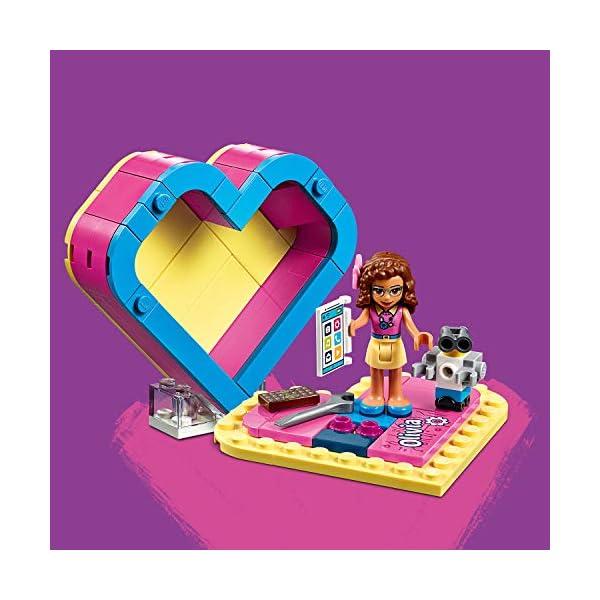 LEGO Scatola Del Cuore Di Olivia Costruzioni Piccole 5 spesavip