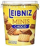 Leibniz Choco Cup Mini 125 g - Mini-Butterkekse mit Schokolade - Schoko-Kekse für den kleinen Hunger - Mini-Kekse im praktischen Becher