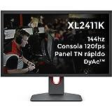 BenQ Zowie XL2411K 24 Inch 144Hz Esports Gaming Monitor,1ms | FHD | Height Adjustable | DP, HDMI |DyAc-Recoil Control, Black