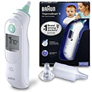 Braun ThermoScan 5 Infrarot Ohrthermometer IRT6020