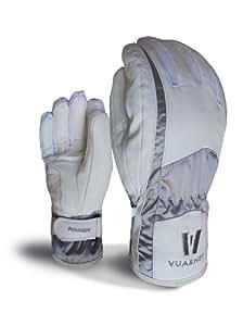 Vuarnet Gants de ski Glove blanc et coloris argenté Taille S/M