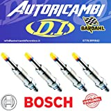4 Candelette Bosch 1.9 Jtdm 150 Cv - 46792355
