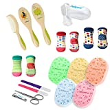 GoFuture Neugeborenen Set - Babypflege Set - Erstaustattung für Neugeborene