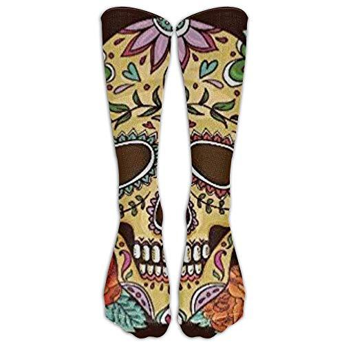 Dead 2017 Knee High Graduated Compression Socks for Women and Men - Best Medical, Nursing, Travel & Flight Socks - Running & Fitness ()