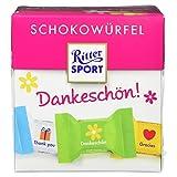 Ritter SPORT Schokowürfel Dankeschön, 176 g