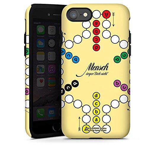 Apple iPhone X Silikon Hülle Case Schutzhülle Mensch ärger Dich nicht großes Spielbrett Tough Case glänzend