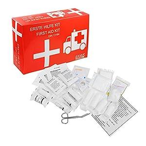 Eaxus® KFZ Auto Verbandskasten nach DIN13164 – Erste Hilfe Set & Broschüre