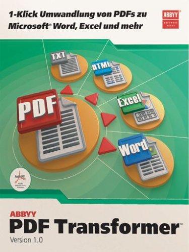 Preisvergleich Produktbild Abbyy PDF Transformer