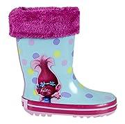 trolls Poppy Stivali da Pioggia bambina