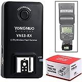 Yongnuo YN3-RX E-TTL Kabelloser Blitz Empfänger für Canon ST-E3-RT YN-E3-RT YN568EX YN565 YN468C LF650