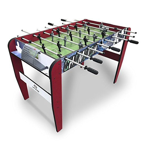 Table Football Soccer Gaming 4ft Foosball Arcade Game Fun Adults Kids Play Home