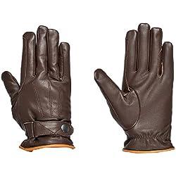 Riders Trend 10034461-CHO-L - Guantes de equitación de invierno unisex, color chocolate, talla L