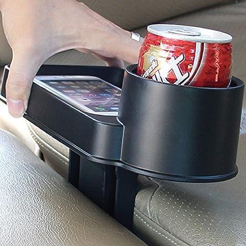 kkmoon Auto Cup Tablett Tirol t22806Auto Tablett-Halter DRINK Lebensmitteln Becherhalter