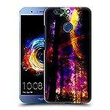 Head Case Designs Offizielle Haroulita Saturn-Blitz Raum Ruckseite Hülle für Huawei Honor 8 Pro