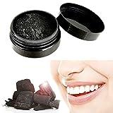 DDG EDMMS - Polvo de blanqueamiento de Carbono Activado con Coco Natural, solución de blanqueamiento Dental Segura y eficaz. (30 g, Todo Natural).