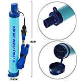 kikar Outdoor Wasser Filter Hollow Faser, Wasser Luftreiniger perfekt für Backpacker, Camper, Wanderer oder für Notfälle