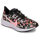 Nike Air Zoom Pegasus Vintage Floral, Scarpe da Trail Running Unisex-Bambini, Multicolore (Black/Pink Tint/Pale Ivory/White 1), 37.5 EU