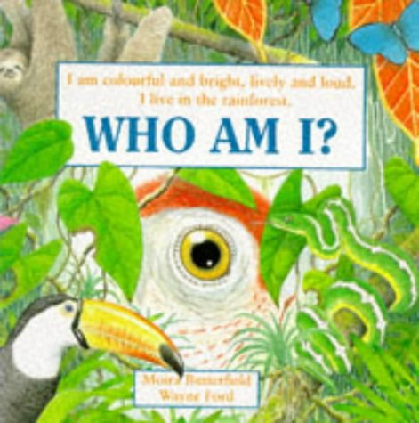 I am colourful and bright, lively and loud. I live in the rainforest. Who am I?