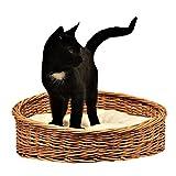 GalaDis 1-99 Kleiner Katzenkorb aus Weide