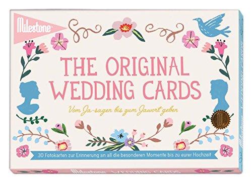 Preisvergleich Produktbild Milestone Wedding Hochzeit-Erinnerungskarten für all die besonderen Momente bis zu eurem großen Tag in deutscher Sprache