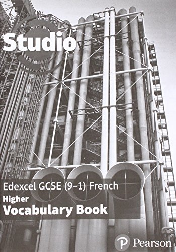 Studio Edexcel GCSE French Higher Vocab Book (pack of 8)