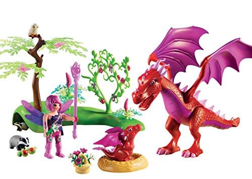 Playmobil Hadas Dragón con Bebé única 9134