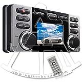 Clarion CMV1 - 2 DIN Marine Radio Wasserdicht, MP3, USB, DVD