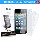 Best 4s Screen Protectors - 4S Screen Protector **[ PACK OF 3 PIECES Review