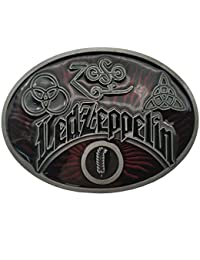 YONE Hebilla de cinturón Led Zeppelin Keltic Design Rock Music Belt Buckle