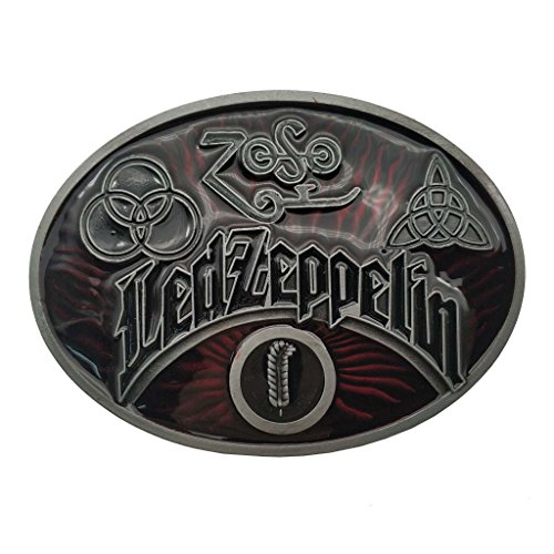 YONE Led Zeppelin Keltic Design Rock Music Belt Buckle Boucle de ceinture