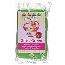 FunCakes Pâte d'Amande Vert 250 g