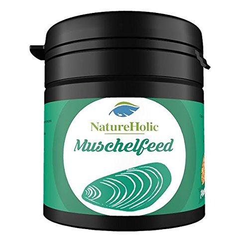 NatureHolic Muschelfeed Muschelfutter - 30g - Futter für Süßwasser & Salzwasser Muscheln im Aquarium