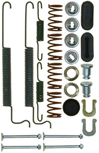 ACDelco 18K2478 Professional Rear Drum Brake Spring Kit with Springs, Pins, Retainers, Washers, and Caps by ACDelco Professional Drum Kit