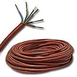 5 meter cable de silicona para su sauna - 5 x 2,5 mm² 5 M SIHF