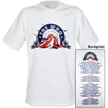 Who - T-Shirt White Tour (in L)