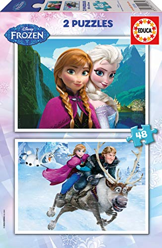 Educa Borras Frozen Puzzles (48 Pieces)